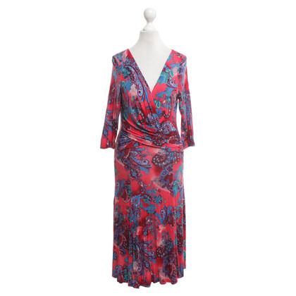 Nusco Kleid mit Paisley-Muster