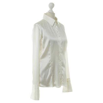 Van Laack Silk blouse in cream