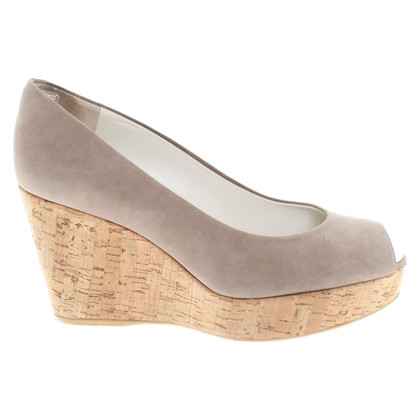 Stuart Weitzman Wedges in Taupe