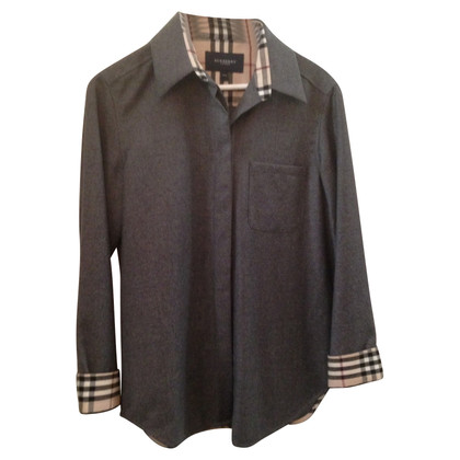 Burberry wollen overhemd