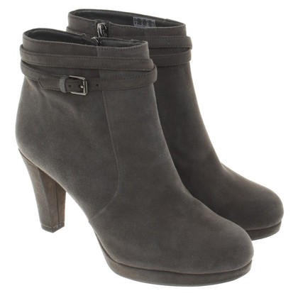 Clarks Ankle boots in dark gray