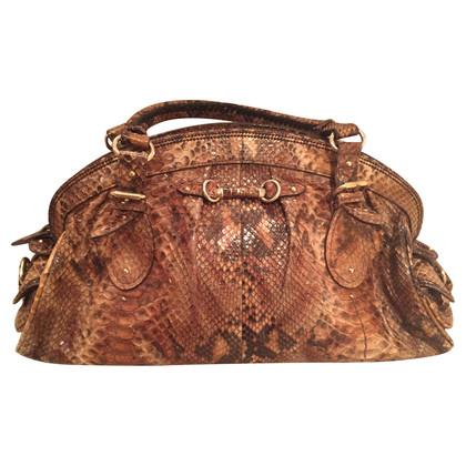 Christian Dior Python handbag