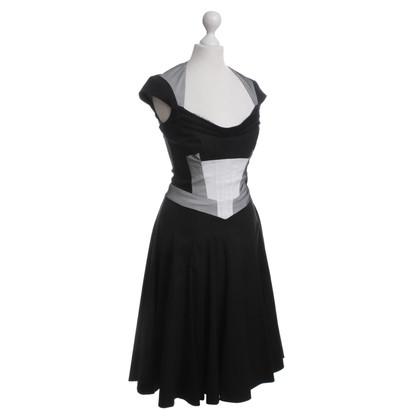 Karen Millen Black dress with details