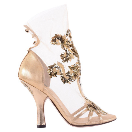 0fb67eabb8 ... Dolce & Gabbana Pumps im Barock-Stil Gold Niedrig Kosten Günstig Online  Auslass Besuch Neu ...