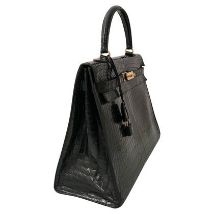 Hermès « Kelly Bag 35 » de la peau des reptiles