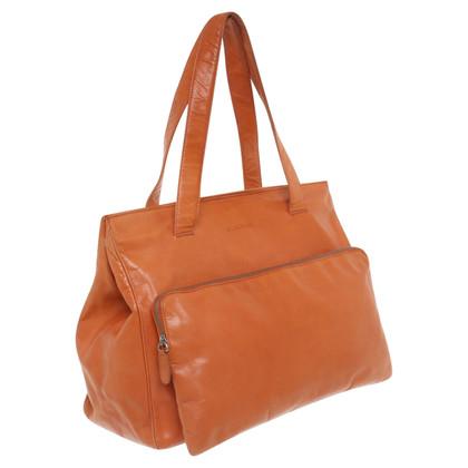Jil Sander Handtasche in Orange