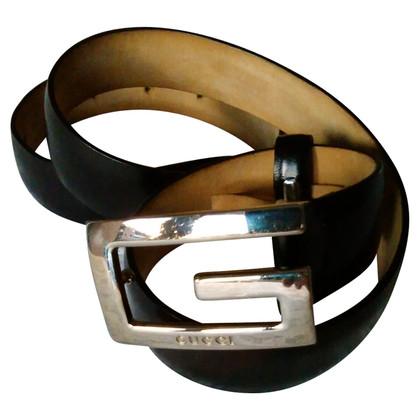 Gucci nubuck Belt