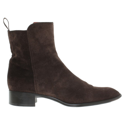 Santoni Ankle boots made of suede