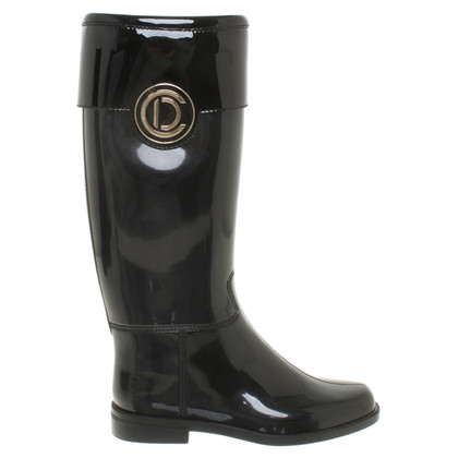 Christian Dior Rubber boots in black