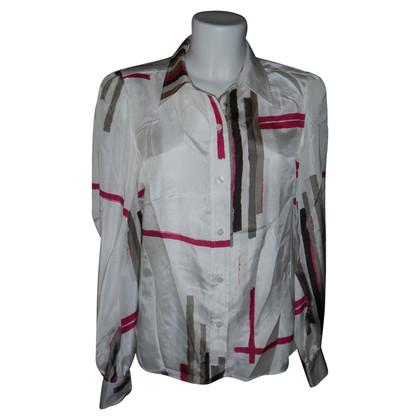 Donna Karan zijden blouse