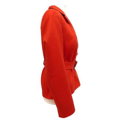 Akris Giacca in cashmere con cintura