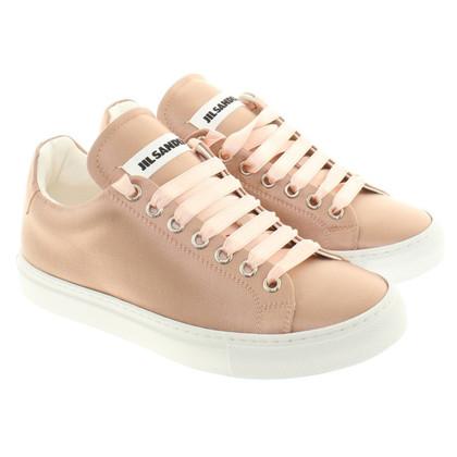 Jil Sander Sneakers aus Satin