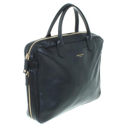 Longchamp Schwarze Businesstasche