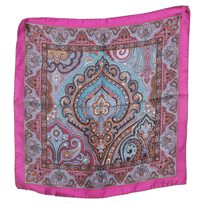 Etro Silk scarf with paisley pattern