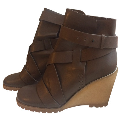 See by Chloé Ankle boots with wedge heel