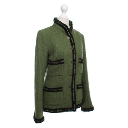 Chanel Blazer verde