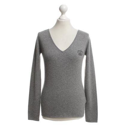 FTC Kaschmir-Pullover in Grau