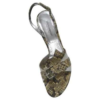 Dolce & Gabbana Sandalen met patroon