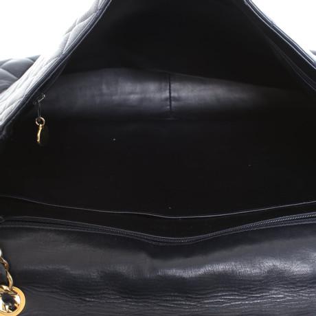 Chanel Flap Bag in Dunkelblau Blau Spielraum Neue Stile tWxlpPO