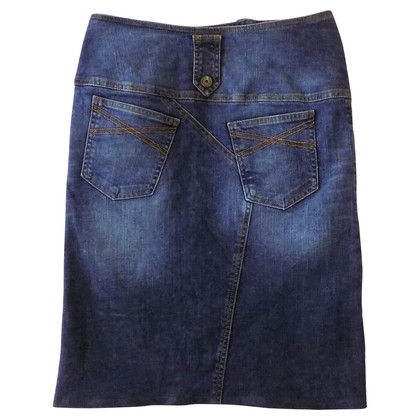 Just Cavalli Mid-length denim skirt