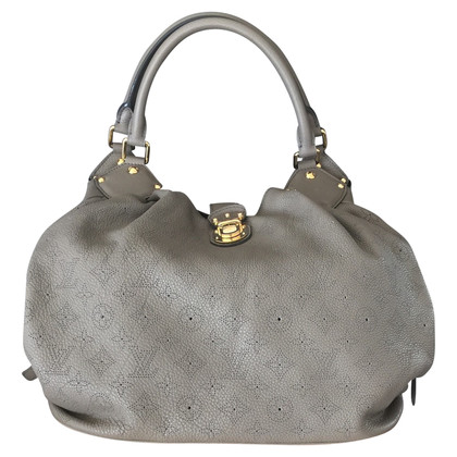 Louis Vuitton Mahina Bag in Taupe