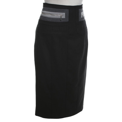 Karen Millen skirt in black / grey