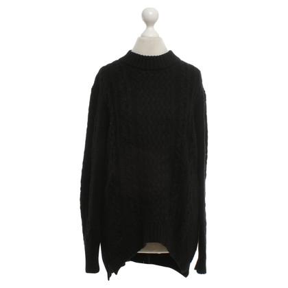 Cos Wollen trui in zwart