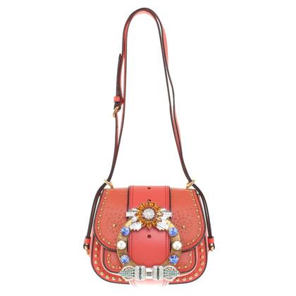 Miu Miu Handtasche in Rot