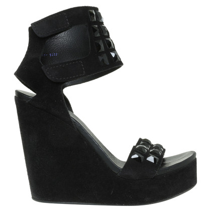 Pedro Garcia Platform sandals in black