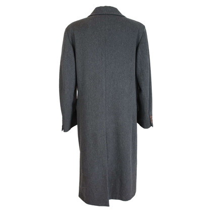Armani Emporio Armani gray wool coat