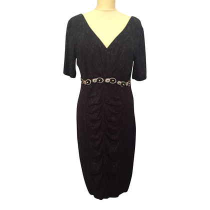 Ella Singh Black snakeprint dress