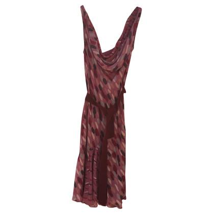 Moschino Cheap and Chic zijden jurk