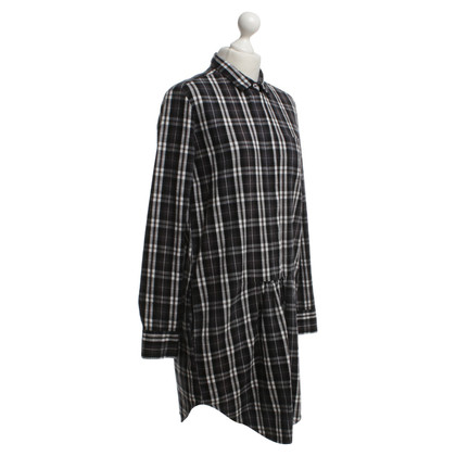 Other Designer 0039 Italy Dress in plaid pattern