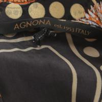 Agnona zijden jurk