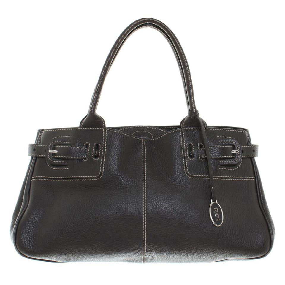 tod 39 s handtasche in braun second hand tod 39 s handtasche in braun gebraucht kaufen f r 250 00. Black Bedroom Furniture Sets. Home Design Ideas