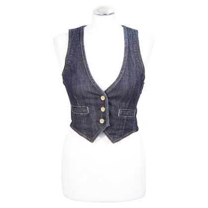 7 For All Mankind Denim vest in blauw