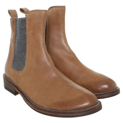 Brunello Cucinelli Ankle boots in camel