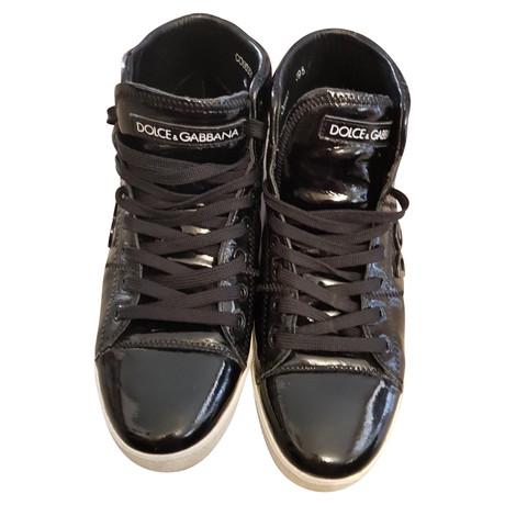 Dolce & Gabbana Sneakers Schwarz Zuverlässig Günstiger Preis Countdown-Paket Günstig Online Rabatt Exklusiv 3UMVl9An