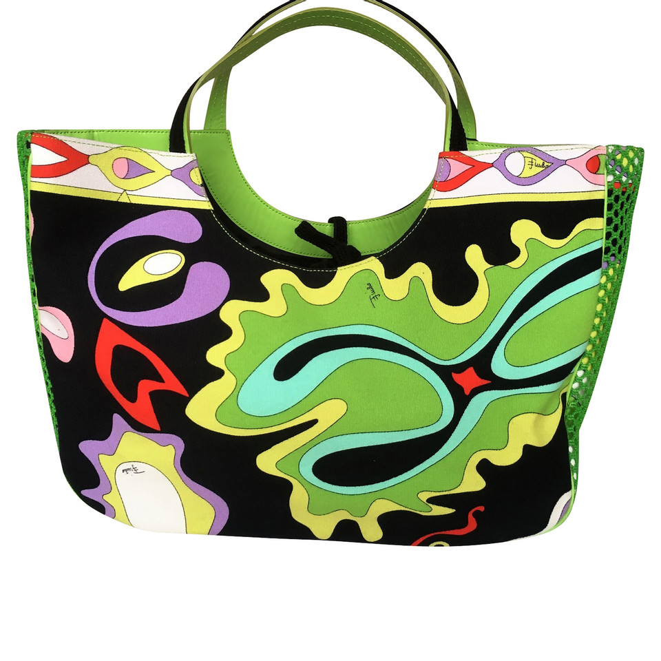 Emilio Pucci Shopper with pattern