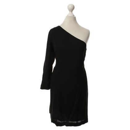 A.L.C. Off-Shoulder-Kleid in Schwarz