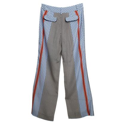 Derek Lam Silk pants with pattern