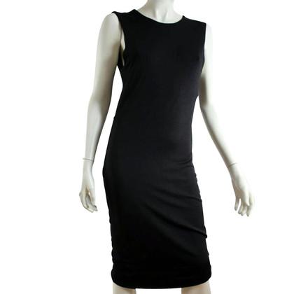 Alexander Wang Zwarte jurk met open rug