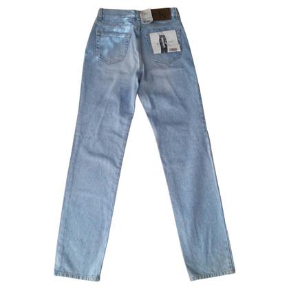 Calvin Klein Jeans in cotone blu chiaro
