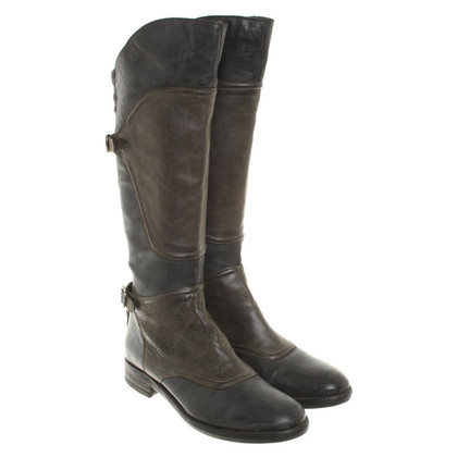 Belstaff Boots olive green