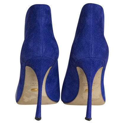 Sergio Rossi BOOTS SUEDE POINTED-TOE