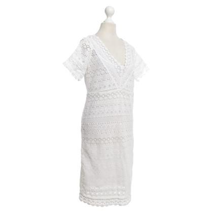 Max Mara Witte lace dress