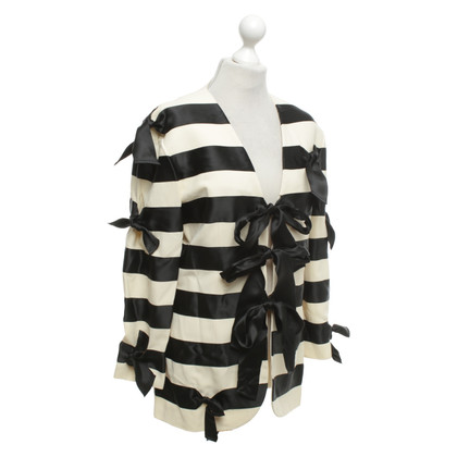 Moschino Jacket with striped pattern