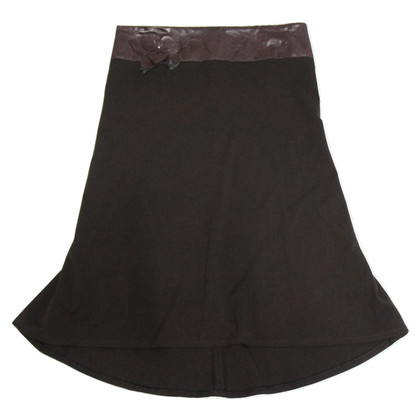Maje Brown Skirt