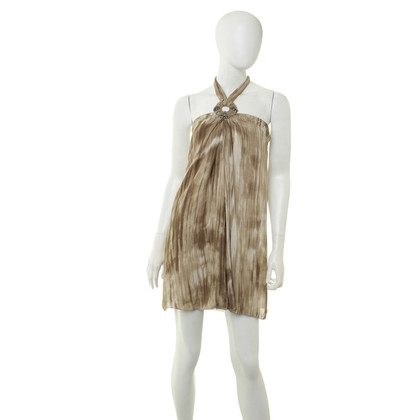 Alice + Olivia Neckholder jurk gemaakt van zijde