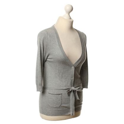 Paul & Joe Fine knit Cardigan in grey